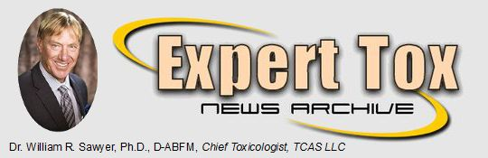 Expert Tox News Archive